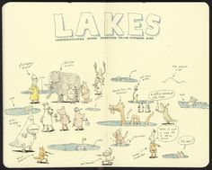 Mattias Inks: Lakes, ponds and puddles