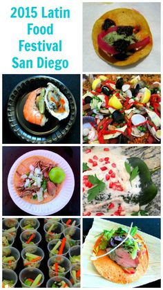 Take a look at all the delicious food that was served during the 2015 Latin Food Festival in San Diego, California.