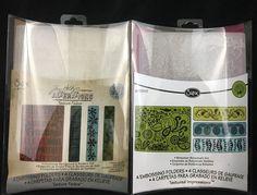 Sizzix Embossing Folders Choice of Christmas 657480 or Bohemian Botanicals 65781 #Sizzix