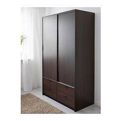 Kvikne Wardrobe With 2 Sliding Doors White Sliding