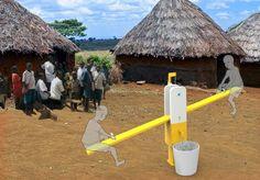 La Revue du Design » Blog Archive » The Seesaw Well, une pompe à eau humanitaire et ludique