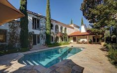 back of Kelsey Grammer's new house Beverly Hills