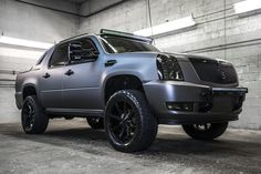Totally Custom 2009 Cadillac Escalade EXT AWD Black and Gray Truck For Sale | Northwest Motorsport
