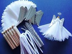 Angel Peg Dolls - Makes 30, Christmas Craft Projects, Craft Ideas for 13 to 99 Kids, childrens crafts, children's craft supplies