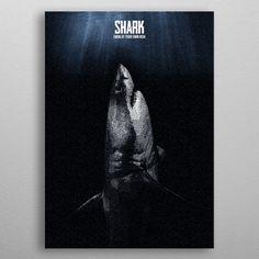 SHARK has a 64-bit block size and a 128-bit key size. metal poster