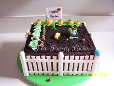 Garden Cake https://www.facebook.com/TeaPartyCakesbyNaomi