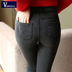 New Fashion Ladies Casual Stretch Denim Jeans 2017 Hot Leggings Jeggings Pencil Pants Thin Skinny Leggings Jeans Womens Clothing Denim Leggings, Denim Jeans, Jeggings, Jeans Pants, Leggings Are Not Pants, Thin Skinny, New Fashion, Womens Fashion, Fashion Glamour