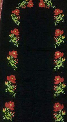 . Prayer Rug, Poppies, Cross Stitch, Embroidery, Crochet, Model, Crochet Flowers, Cross Stitch Embroidery, Butterflies