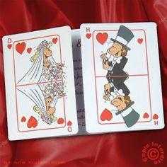 faire part de mariage jeux de cartes plus de mariage mariage delphine ...