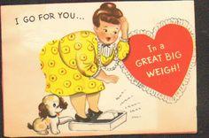 I love this vintage valentine!