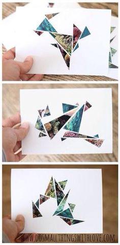 Cadeau Creatief met papier (scrapcard)