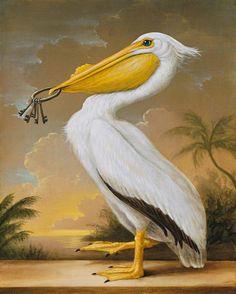 The Art of Kevin Sloan Louisiana Art, Birds Of America, Surrealism Painting, Bird Artwork, Bird Illustration, Surreal Art, Oeuvre D'art, Artist Art, Pet Birds