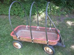 Making a covered wagon for Lydia's costume-   Two Ladies and a Blog: Pioneer Day Possibilities