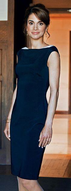 ♔♛Queen Rania of Jordan♔♛.. http://www.pinterest.com/helmagerssenrom/royals/