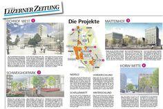 Maps4News in Neue Luzerner Zeitung, Switserland