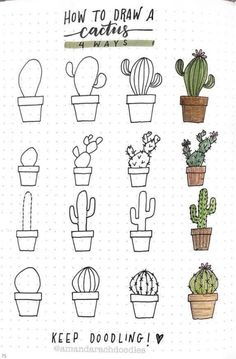 25 Easy Doodle Art Drawing Ideas For Your Bullet Journal – Brighter Craft Bullet Journal Writing, Bullet Journal Notes, Bullet Journal Aesthetic, Bullet Journal Ideas Pages, Bullet Journal Inspiration, Doodle Drawings, Easy Drawings, Pencil Drawings, Drawings Pinterest