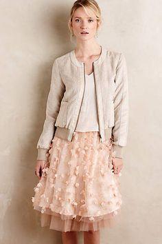 Fluttered Fete Midi Skirt - #anthroregistry