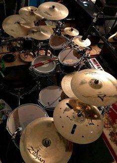 Music X, Music Stuff, Music Studio Room, Drums Studio, Trommler, Zildjian Cymbals, Drum Patterns, Drums Art, Instruments