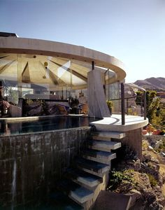 Mid-Century Modern Freak | 1968 Elrod House | Architect: John Lautner | Palm...