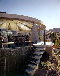 Mid-Century Modern Freak | 1968 Elrod House | Architect: John Lautner | Palm...