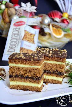 Polish Cake Recipe, Polish Recipes, Easy Blueberry Muffins, Blue Berry Muffins, I Want To Eat, Tiramisu, Cake Recipes, Nutella, Sweets