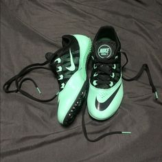 Mint Nike Track Spikes Worn once for a 200 indoor meet Nike Shoes Athletic Shoes