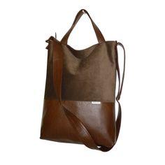 cb0ec83eb321c Sportowa, choć jednocześnie elegancka, jednokomorowa torba listonoszka -  shopper typu 3w1, do ręki
