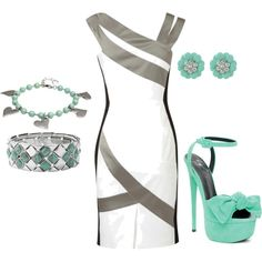 Love the dress...created by alicia-tuttle on Polyvore