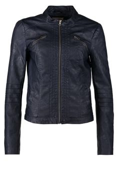 cec2eb1d0b ONLY - NEW STOLA - Faux leather jacket - blue