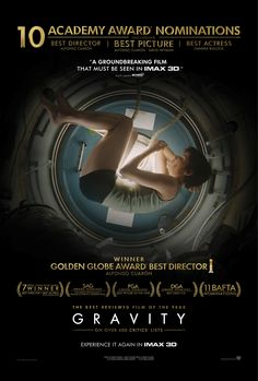 NEW BOARD - Visuals + Cinematography - Gravity Poster