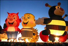 Image detail for -... Nottingham - In Pictures - Albuquerque Balloon Festival