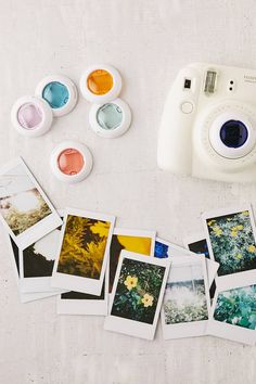 Slide View: 1: Instax Mini Color Filter Lens Set