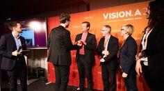 Den Award nahmen entgegen: (v.l.) Wolfgang Lünenbürger (Cohn & Wolfe…