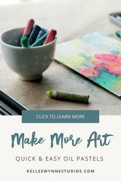 This medium is blowing my mind and I've been using it for years. I love working with oil pastel over acrylic with mixed media projects. If you are curious about how to add oil pastel into your current work and create rich mixed media paintings, then join me! #colorwithkellee LIVE every Tues at 2pm 🤗 Don't miss the $27 color course available now! 🌈#kelleewynnestudios #artcourse #artcoursesonline #artpainting #originalart #originalartwork #learntopaint #oilpastels #makemoreart Oil Pastel Paintings, Oil Pastel Art, Color Wheel Lesson, How Do You Clean, Making Excuses, Art Courses, Mixed Media Artwork, Large Painting, Learn To Paint