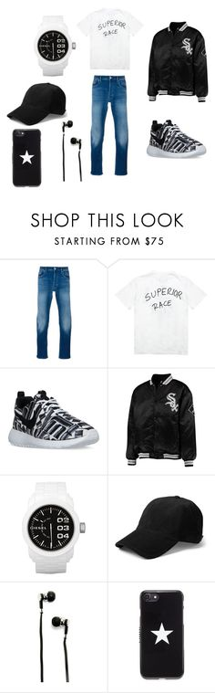 """""""Dior's set !"""" by kingdiorx1 ❤ liked on Polyvore featuring STONE ISLAND, Death to Tennis, NIKE, Diesel, rag & bone, Master & Dynamic and Givenchy"""