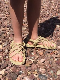 FREE SHIP Children's Rope Sandals Rope Sandals, Foot Pics, Walking Barefoot, Brown Beige, Ship, Running, How To Wear, Free, Costumes