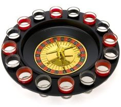 Roulette – Drinking Game Great for all the parties you are going to throw.