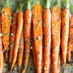 http://damndelicious.net/2015/01/17/garlic-roasted-carrots/