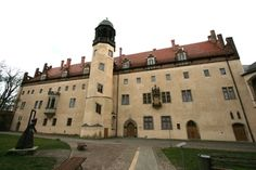 Wittenburg Germany, Martin Luther house and church where he nailed the 95 Theses