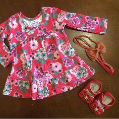 ⭕️⭕️SALE⭕️⭕️  ✅ Vestido linha Baby - por R$ 29,90  www.purezababy.com.br/vestido-manga-longa-brandili-floral   ✅ Sapatilha - por R$ 39,90 www.purezababy.com.br/sapatilha-babyi-vermelho-laco-duplo   #Minidiva #lojavirtualinfantil #modainfantil #gravidez #maternidade #lookinhododia #purezababy #littlebaby #babyfashion #babykids #modababy #lojainfantil #baby #kids #fashion