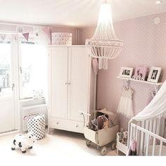 Chandelier for little girl's room