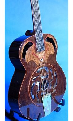 """Bat Out of Hell"" 12-string Resonator Guitar"