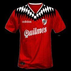 CARP - Camiseta Suplente 1997. Classic Football Shirts, Soccer Stadium, Football Kits, Mens Tops, Carp, Football Shirts, Sport, Tatoo