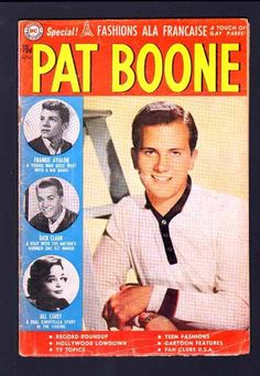 from $89.99 - Pat Boone 5 4.5 Vg 1960 Dc Dick Clark Frankie Avalon Jill Corey Music