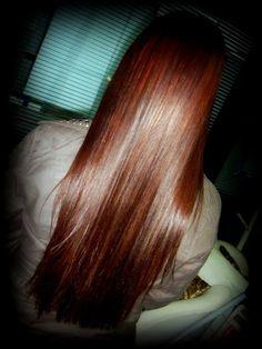 Katia Miyazaki Coiffeur - Salão de Beleza em Floripa: cabelo feminino - longo - liso - brilhoso - ruivo ...