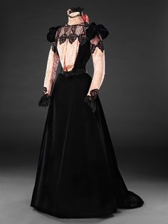 Late 1890s Dress in the john bright collection