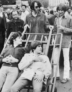 Micky Dolenz, Mike Nesmith, Davy Jones, Peter Tork (The Monkees)