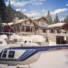 Whistler Luxury Chalet Boasts Its Own Helicopter