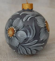 Hand Painted Christmas ornaments American Western Christmas balls. $16.50, via Etsy.