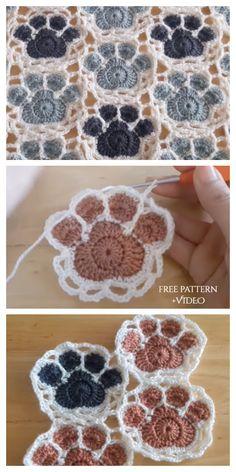 Crochet Motifs, Crochet Square Patterns, Crochet Quilt, Crochet Squares, Crochet Blanket Patterns, Knitting Patterns, Free Crochet Square, Crochet Mandala, Crochet Afghans